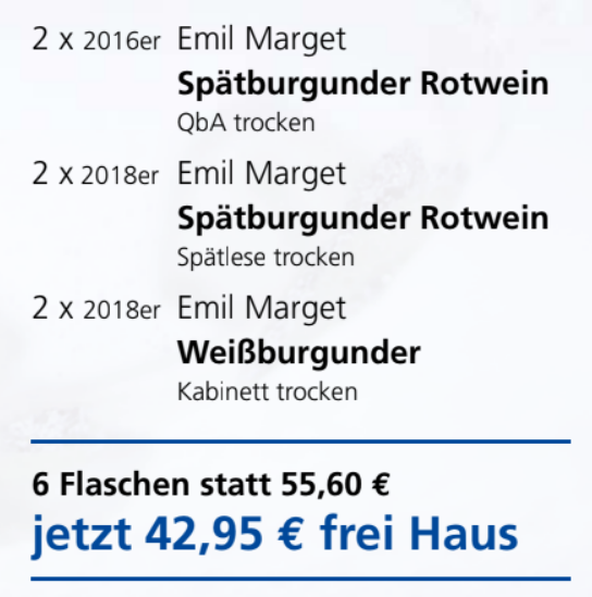 Emil Marget Rot-Weiß-Rosé-Paket-6