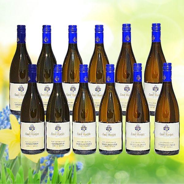 Weißwein-Paket Burgunder Chardonnay - Emil Marget