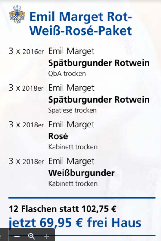 Emil Marget Rot-Weiß-Rosé-Paket-12