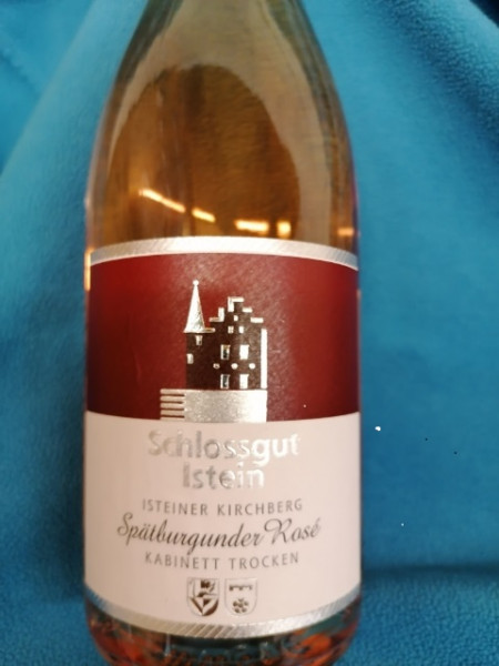 Schlossgut Istein Isteiner Kirchberg Spätburgunder Rosé 2019