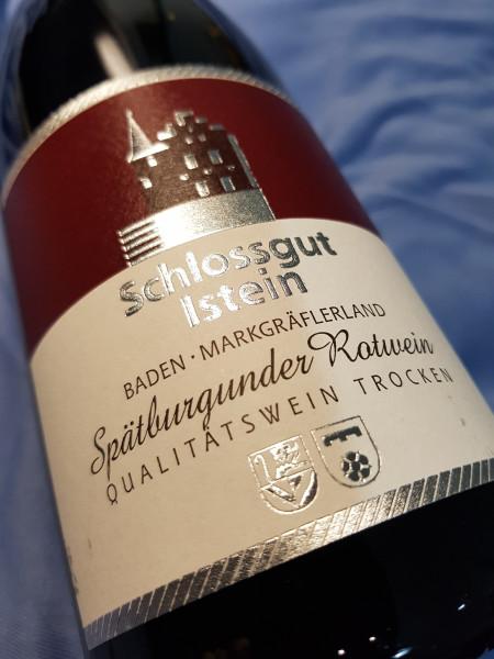 2018 Spätburgunder Rotwein Isteiner Kirchberg Qualiätswein trocken